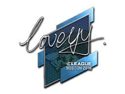 Sticker | LoveYY | Boston 2018