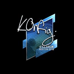 k0nfig (Foil) | Boston 2018