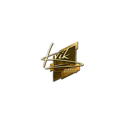 Sticker | Kvik (Gold) | Boston 2018
