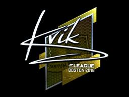 Kvik | Boston 2018