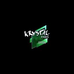 Sticker   kRYSTAL (Foil)   Boston 2018