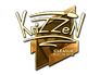 Skin Sticker | KrizzeN (Gold) | Boston 2018