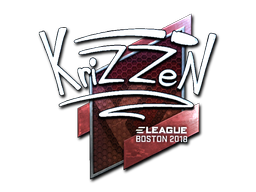 Sticker | KrizzeN (Foil) | Boston 2018