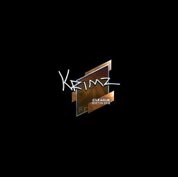 Sticker | KRIMZ (Foil) | Boston 2018