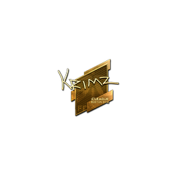 Sticker | KRIMZ (Gold) | Boston 2018
