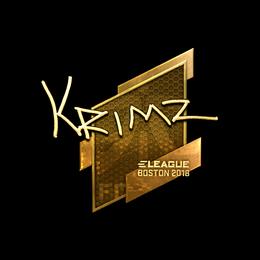 KRIMZ (Gold) | Boston 2018