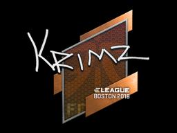 Sticker | KRIMZ | Boston 2018