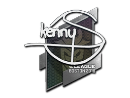 Sticker | kennyS | Boston 2018