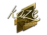 Skin Sticker | Kaze (Gold) | Boston 2018