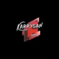 Sticker | karrigan | Boston 2018