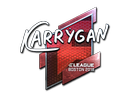 Sticker | karrigan (Foil) | Boston 2018