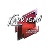 Sticker | karrigan (Foil) | Boston 2018