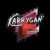 Sticker   karrigan (Foil)   Boston 2018