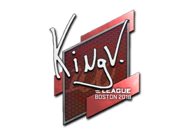 Sticker | kNgV- | Boston 2018
