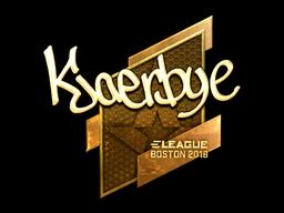 Kjaerbye | Boston 2018