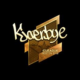 Kjaerbye (Gold) | Boston 2018