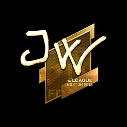 JW (Gold) | Boston 2018