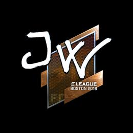 JW (Foil) | Boston 2018