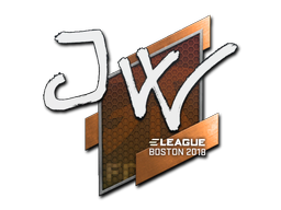 Sticker | JW | Boston 2018