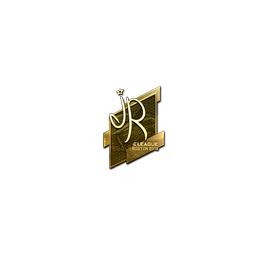 Sticker | jR (Gold) | Boston 2018