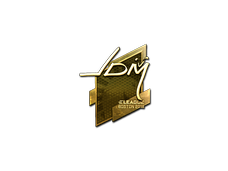 Skin Sticker | jdm64 (Gold) | Boston 2018
