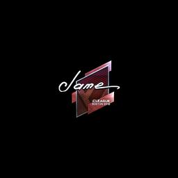Sticker   Jame (Foil)   Boston 2018