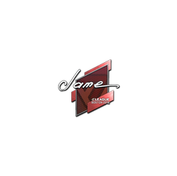 Sticker | Jame | Boston 2018