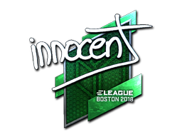 innocent | Boston 2018