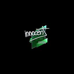 Sticker | innocent (Foil) | Boston 2018