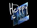 Sticker | Happy (Foil) | Boston 2018