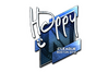 Sticker   Happy (Foil)   Boston 2018