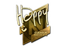 Skin Sticker | Happy (Gold) | Boston 2018