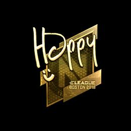 Happy (Gold) | Boston 2018