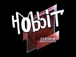 Sticker | Hobbit (Foil) | Boston 2018