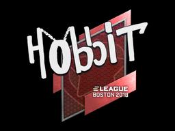 Наклейка | Hobbit | Бостон 2018