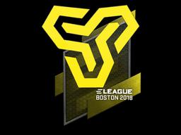 Наклейка | Space Soldiers | Бостон 2018