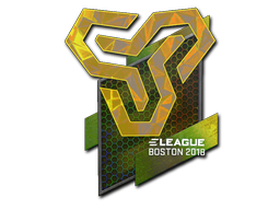 Sticker | Space Soldiers (Holo) | Boston 2018