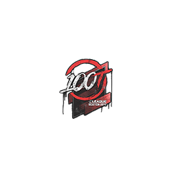 Sealed Graffiti | 100 Thieves | Boston 2018