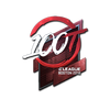Sticker | 100 Thieves <br>(Foil) | Boston 2018