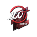 Sticker | 100 Thieves <br>(Foil) | Boston 2018