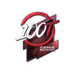 100 Thieves (Foil) | Boston 2018