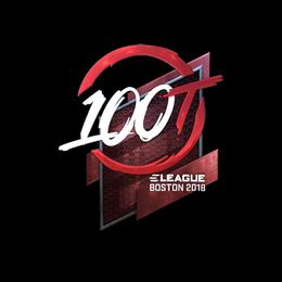 100 Thieves (Foil) | Boston 2018