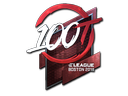 Sticker | 100 Thieves (Foil) | Boston 2018