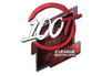 Skin Sticker | 100 Thieves (Foil) | Boston 2018