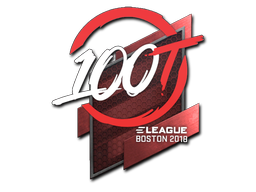 Sticker | 100 Thieves | Boston 2018