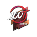 Sticker | 100 Thieves <br>(Holo) | Boston 2018