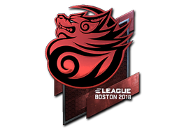 Sticker | Tyloo (Foil) | Boston 2018