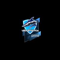 Sticker   Vega Squadron (Foil)   Boston 2018