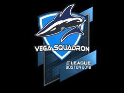 Наклейка | Vega Squadron | Бостон 2018