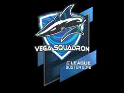 Наклейка | Vega Squadron (голографическая) | Бостон 2018